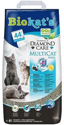 Biokat's Diamond Care Multicat Fresh
