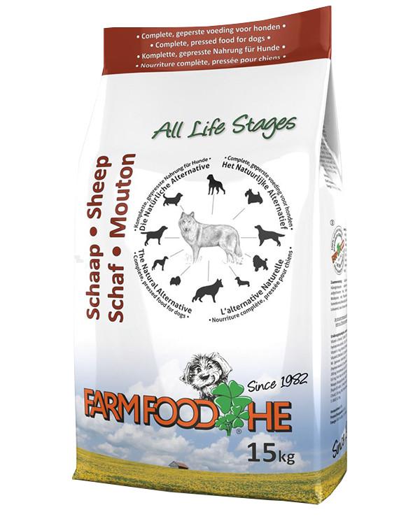 Farm Food HE met Schaap hondenvoer