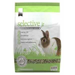 Hope Farms Supreme Science Selective Junior konijn 2 x 1.5 kg Knaagdier en konijn Voer