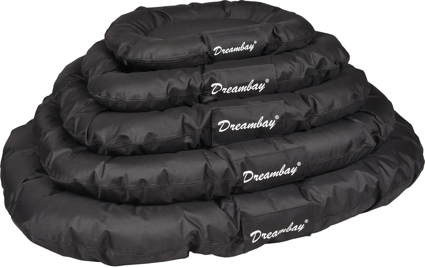 Hondenkussen Dreambay Zwart Rond