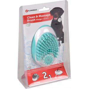 2-in-1 shampoo- en massage borstel Per stuk