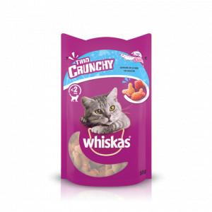 Whiskas Trio Crunchy Vis Mix Kattensnacks 6 x 55 gram