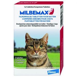 Milbemax Grote Kat 16 Tabletten