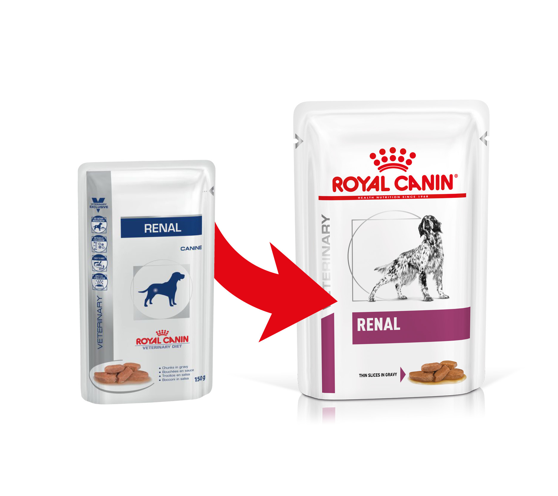 Royal Canin Veterinary Diet Renal zakjes hondenvoer