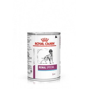 Royal Canin Veterinary Renal Special nat hondenvoer blik 2 trays (24 x 410 gram)