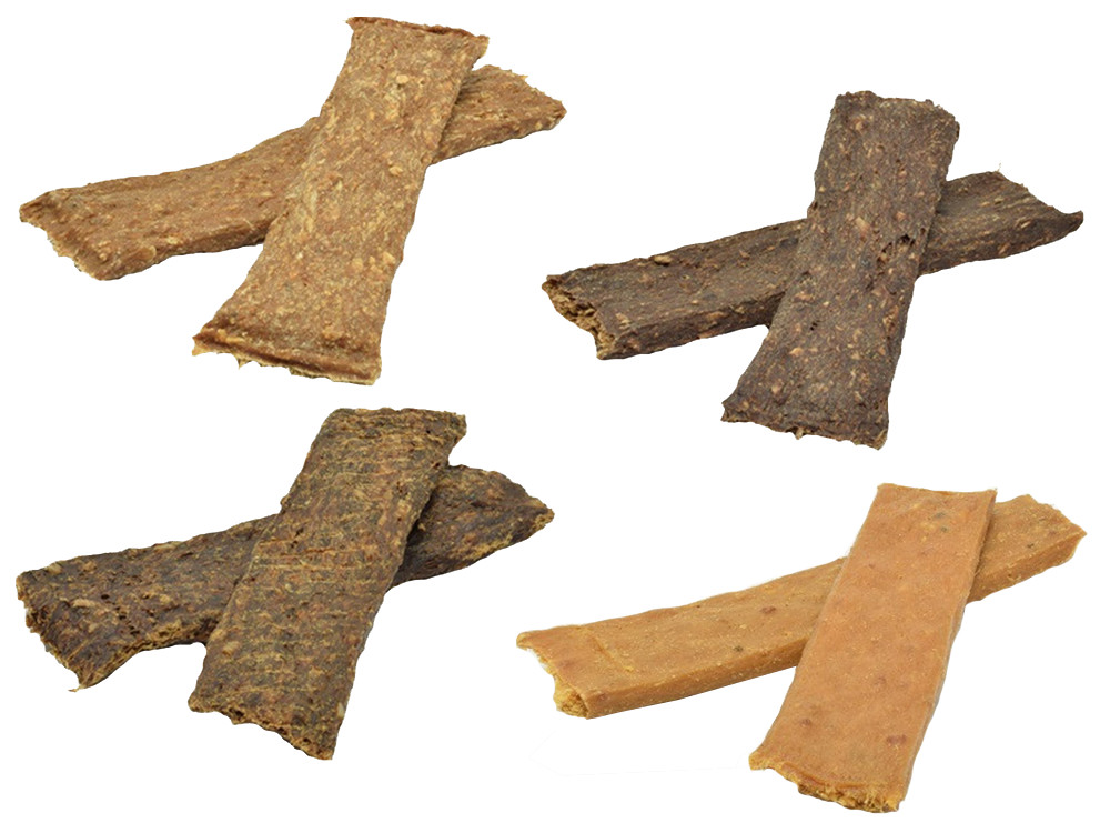 Brekz Snacks - Puur vleesreepjes voordeelpakket