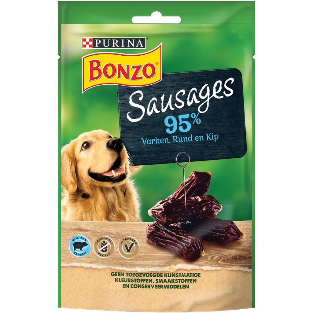 Bonzo Sausages hondensnacks