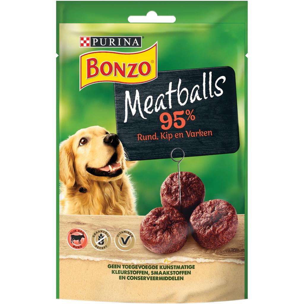Bonzo Meatballs hondensnacks