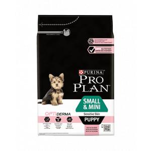 Pro Plan Small & Mini Puppy Sensitive Skin met Optiderma hondenvoer