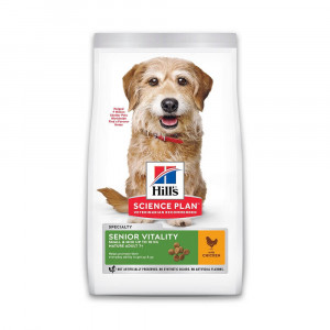 Hill's Mature Adult Senior Vitality Small&Mini kip hondenvoer 6 kg