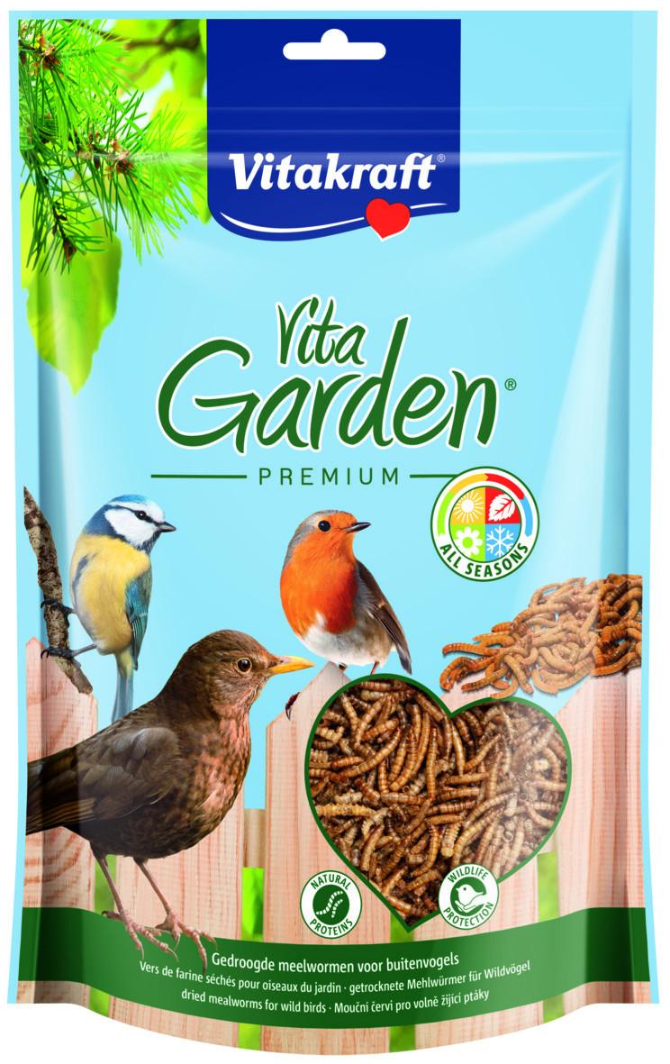 Mealworm To Go gedroogde meelwormen voor vogels
