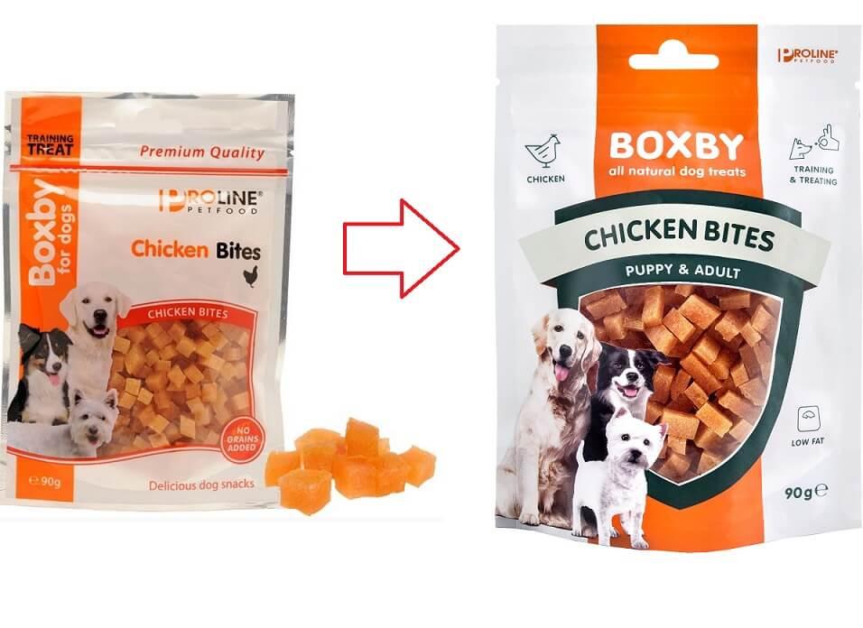 Boxby Chicken Bites hondensnack