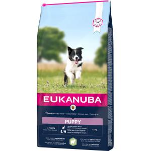 Eukanuba Puppy Small Medium Lam & Rijst hondenvoer
