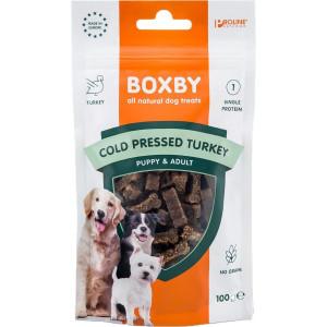 Boxby Cold Pressed Turkey (kalkoen) hondensnack 2 x 100 gram