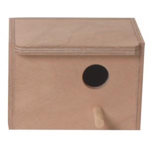 Houten Broedblok mezenkast lang 020 4922 Per stuk