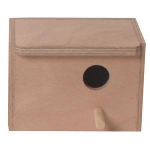 Houten Broedblok mezenkast lang 020 4922