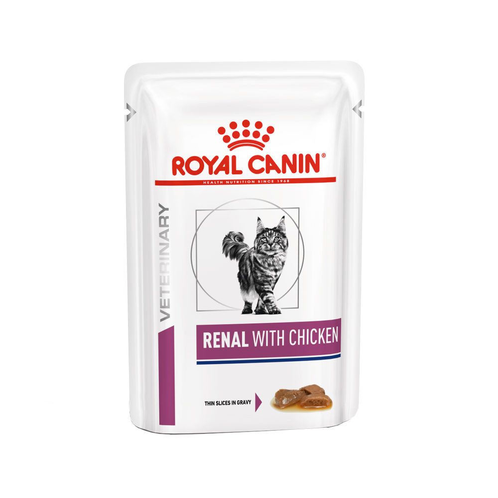 Royal Canin Veterinary Diet Renal with Chicken zakjes kattenvoer