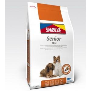 Smølke Senior Mini hondenvoer 4 kg