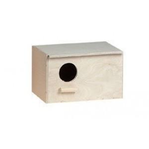 Houten Nestkastje agapornide horizontaal 0045735