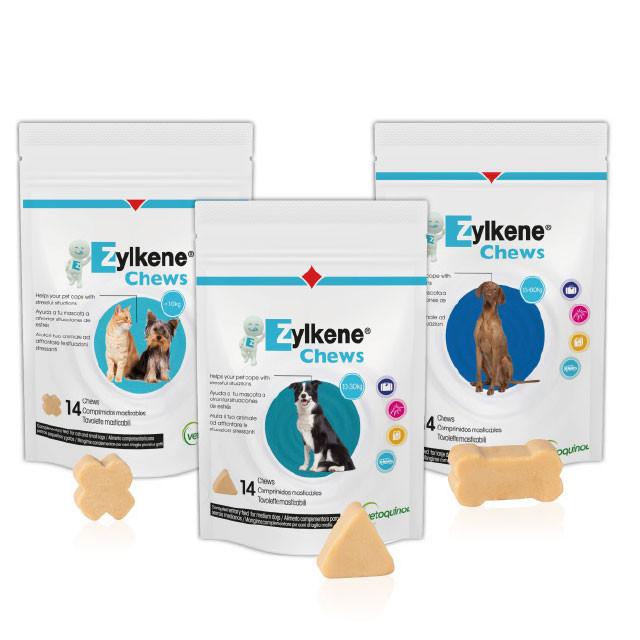 Zylkene Chews 225 mg voor hond en kat