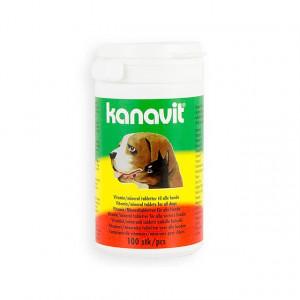 Kanavit vitamines mineralen voor de hond 100 tabletten