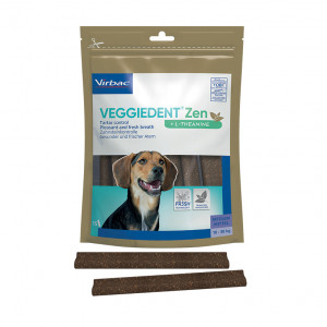 VeggieDent Zen kauwstrips voor de hond