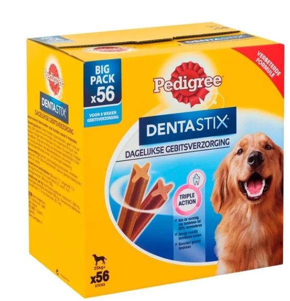 Pedigree Dentastix Large hondensnack vanaf 25 kg