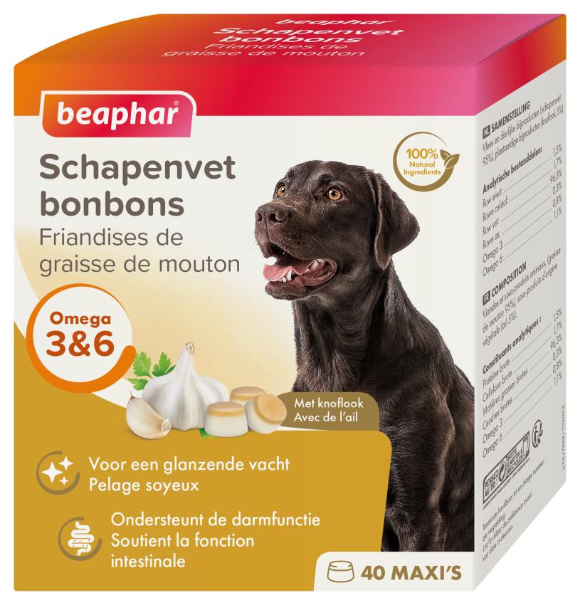 Beaphar Schapenvet Bonbons Met Knoflook