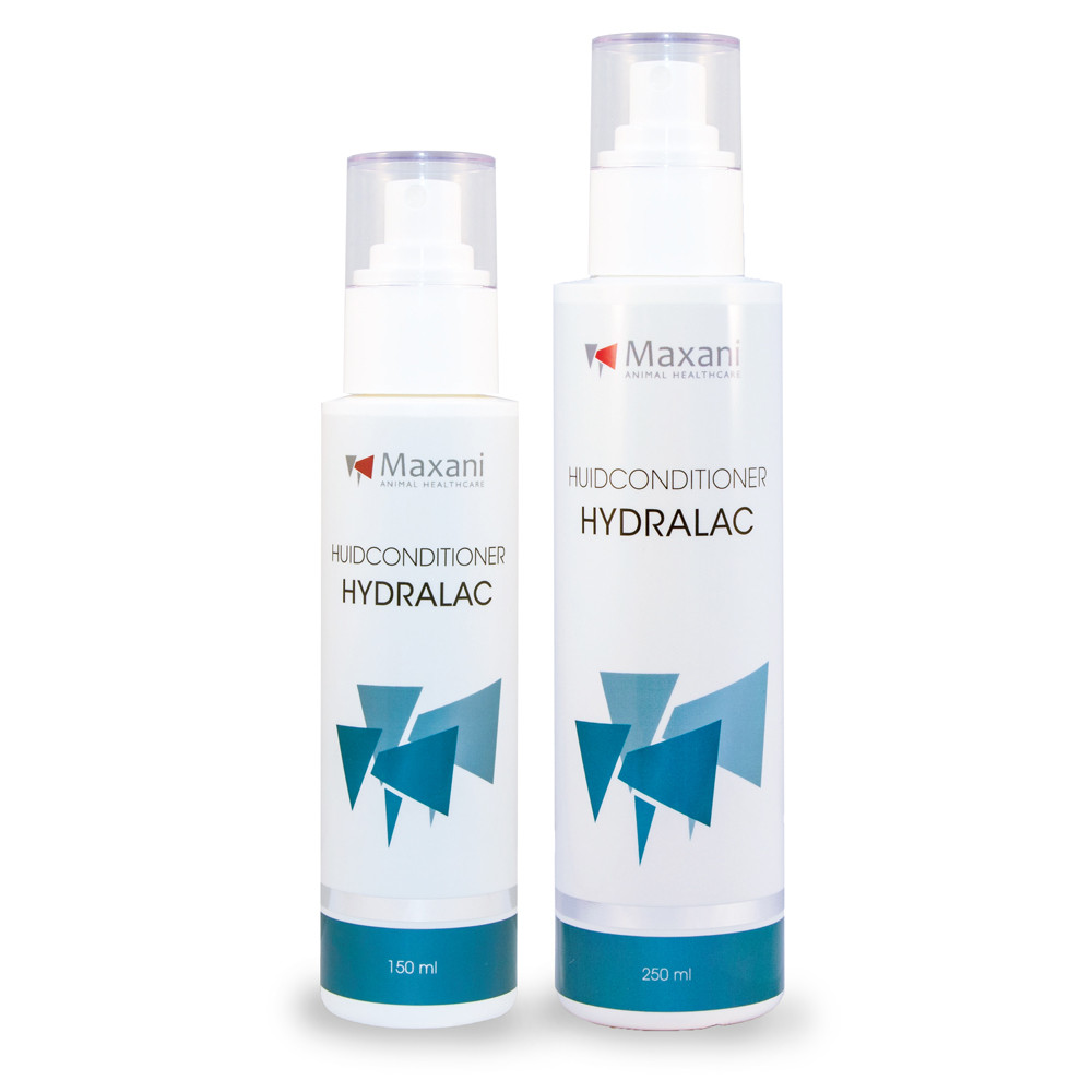 Maxani Hydralac huidconditioner spray voor hond, kat en paard