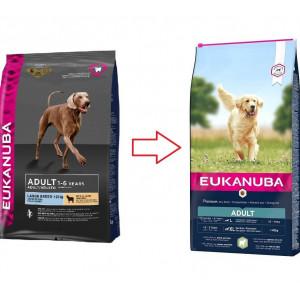 Eukanuba Adult Large Breed lam & rijst hondenvoer