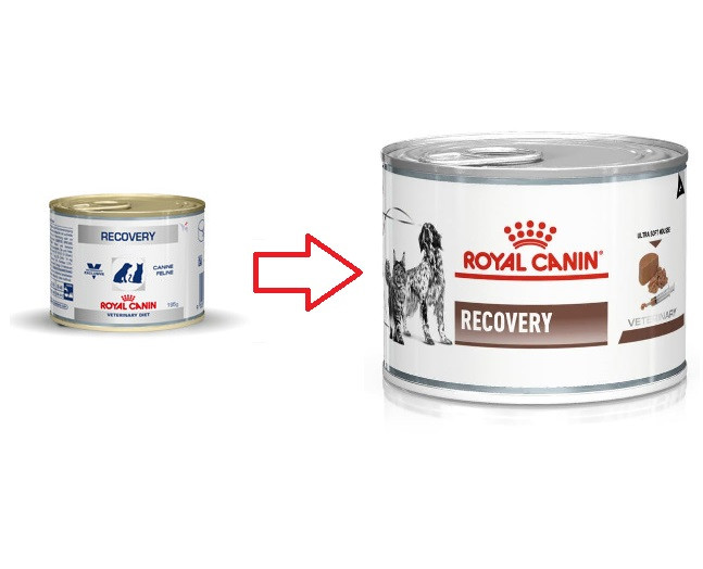 Royal Canin Veterinary Diet Recovery blik hond en kat