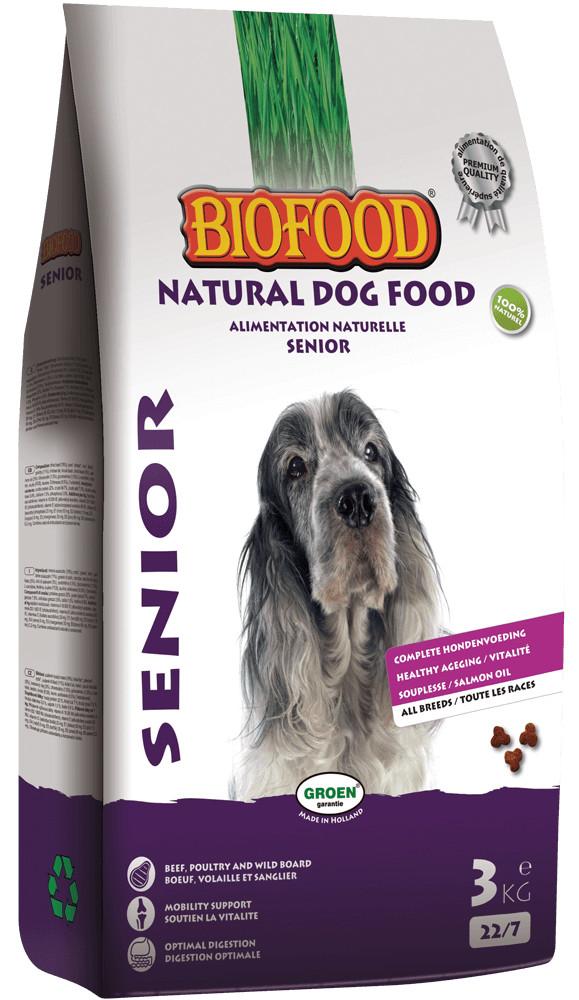 Biofood Senior hondenvoer