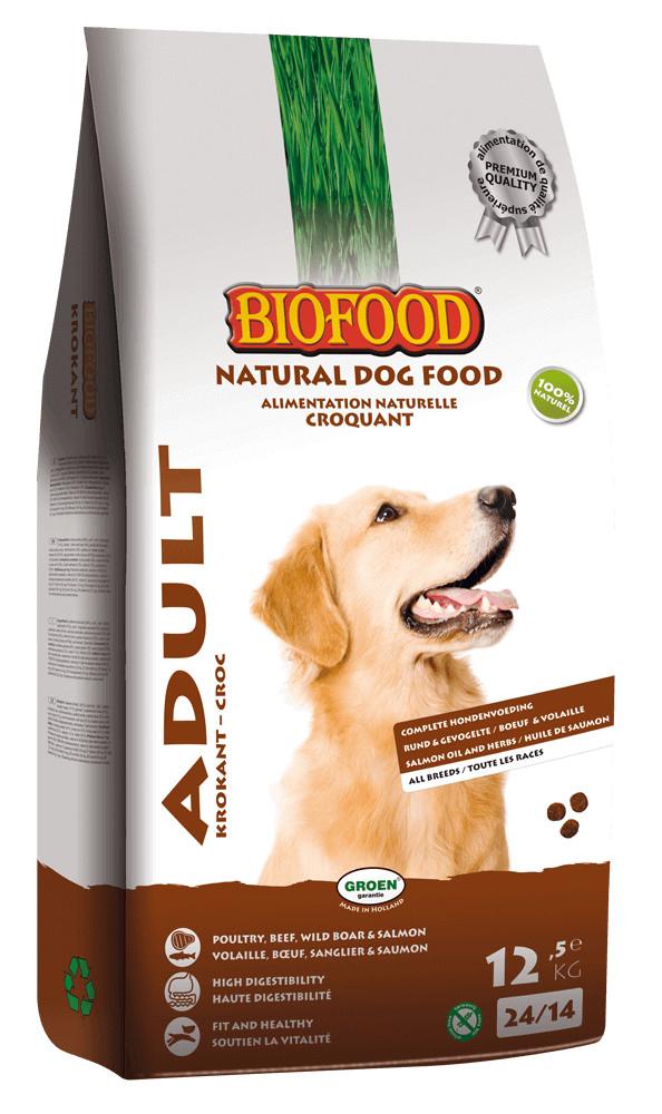 Biofood Adult Krokant hondenvoer