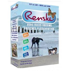 Renske TNDK vers gestoomde kip & lam hondenvoer (395 gr)