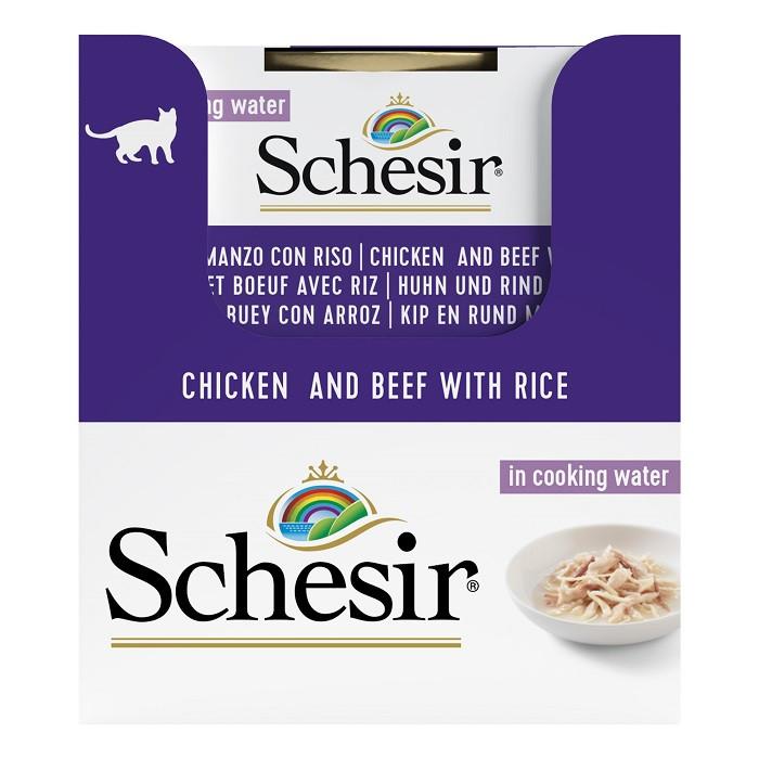 Schesir Zuivere kip en rund met rijst