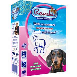 Renske vers gestoomd lam hondenvoer (395 gr)