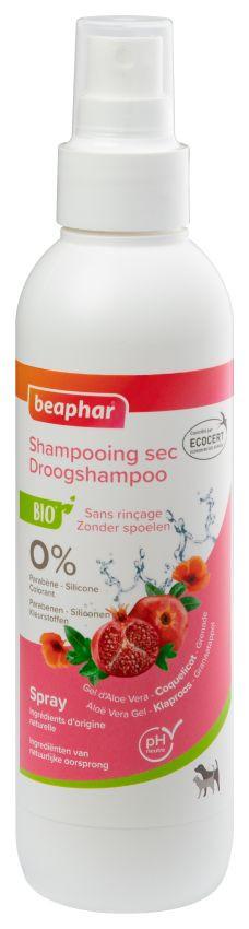 Beaphar Bio Droogshampoo voor hond en kat