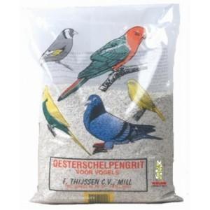 Oesterschelpengrit voor vogels