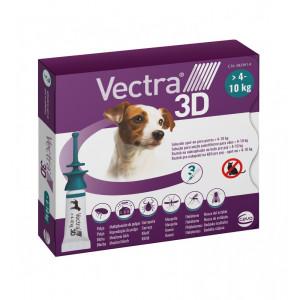 Vectra 3D S Spot-on hond 4 - 10 kg (3 pipetten) 2 x 3 pipetten