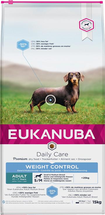Eukanuba Adult Weight Control Medium Breed hondenvoer