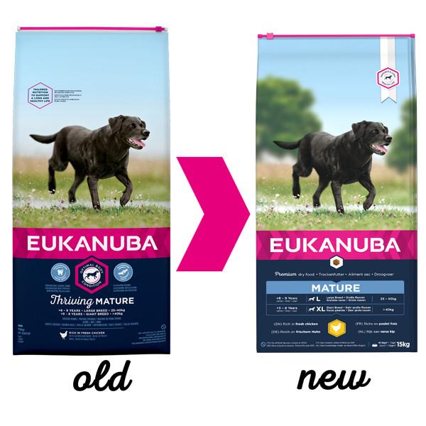 Eukanuba Thriving Mature Large Breed Kip hondenvoer