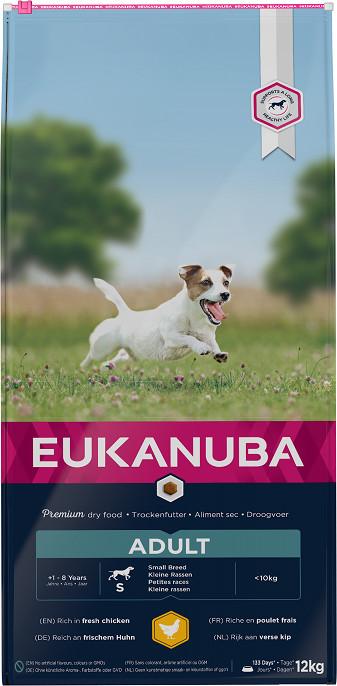 Eukanuba Active Adult Small Breed kip hondenvoer