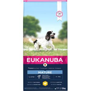 Eukanuba Thriving Mature Medium Breed kip hondenvoer