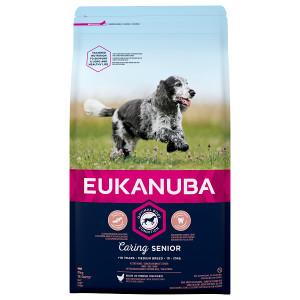 Eukanuba Caring Senior Medium Breed kip hondenvoer