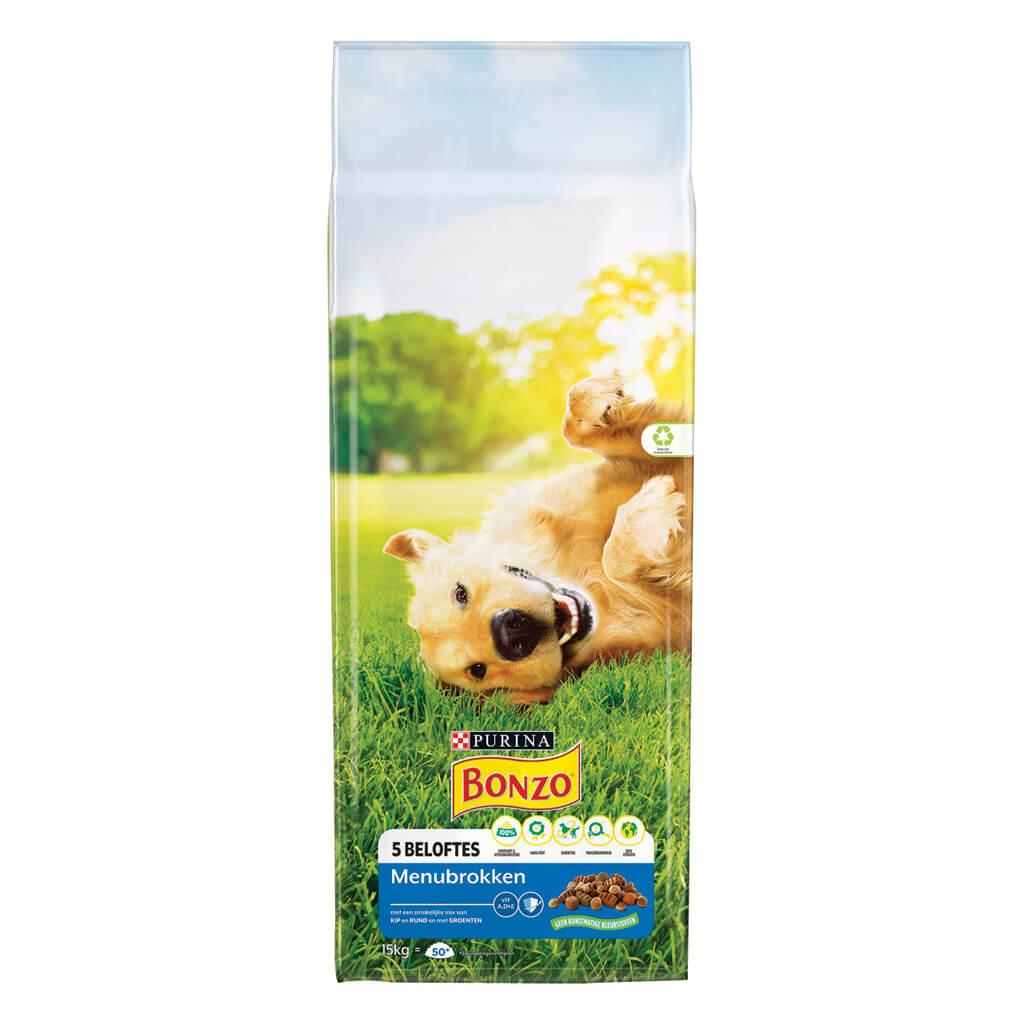 Bonzo Adult Menubrokken Hondenvoer