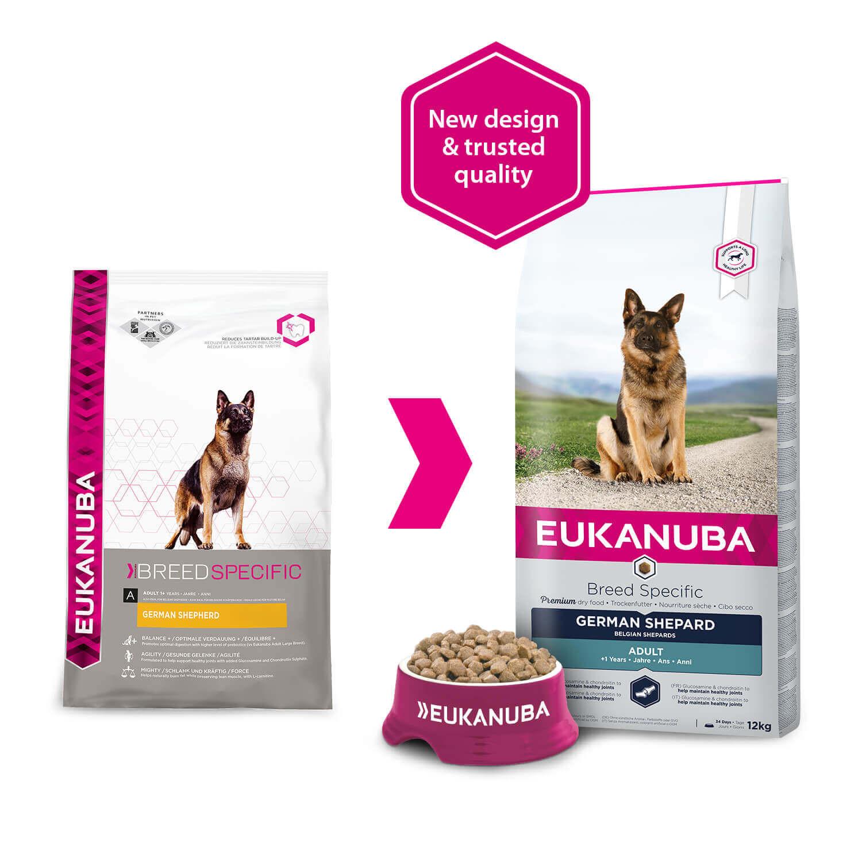 Eukanuba German Shepherd/Duitse Herder hondenvoer