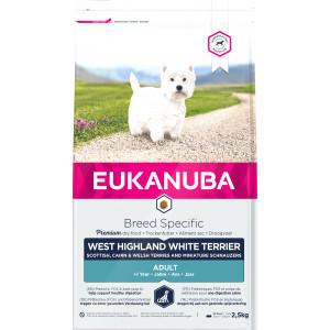 Eukanuba West Highland Whitye Terrier hondenvoer