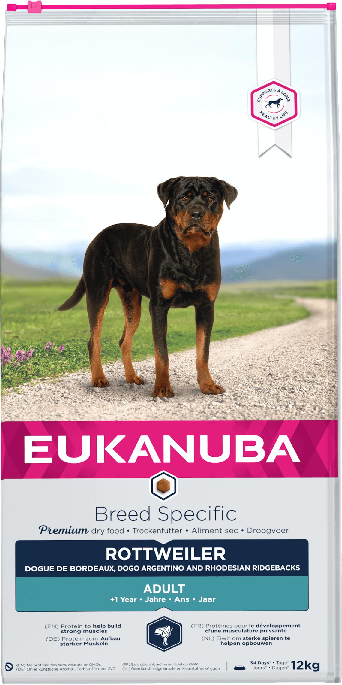 Eukanuba Rottweiler hondenvoer
