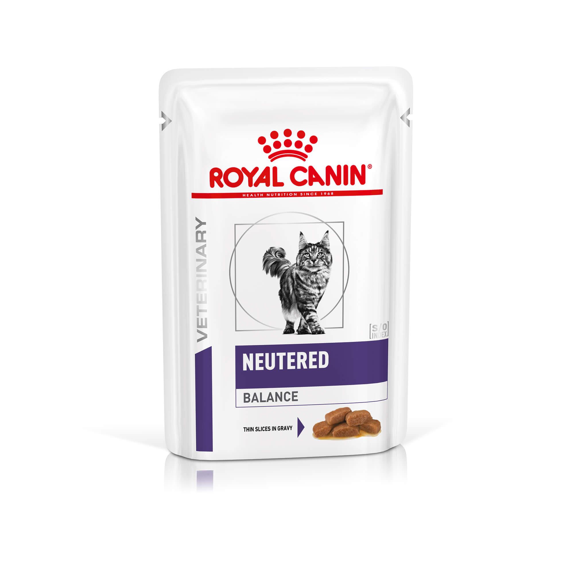 Royal Canin Veterinary Neutered Balance nat kattenvoer(85 gr)