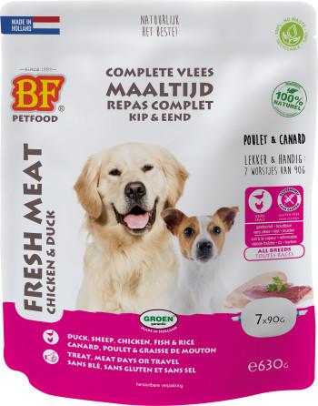 Biofood Vleesvoeding kip met eend natvoer hond